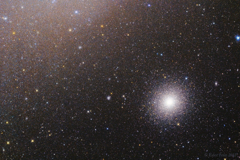 47 Tuc Near the Small Magellanic Cloud