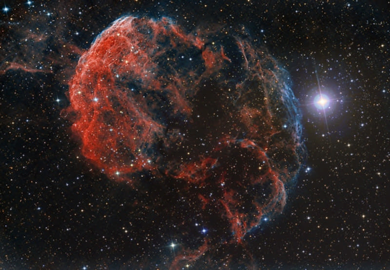 The Elusive Jellyfish Nebula