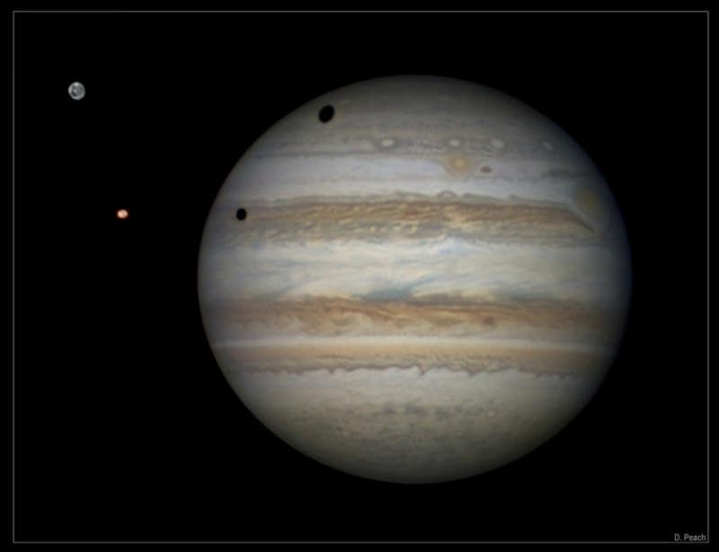 Shadows Across Jupiter
