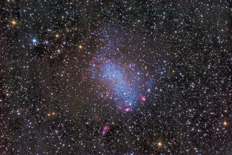 NGC 6822: Barnard's Galaxy
