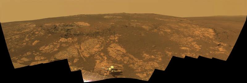 Matijevic Hill Panorama