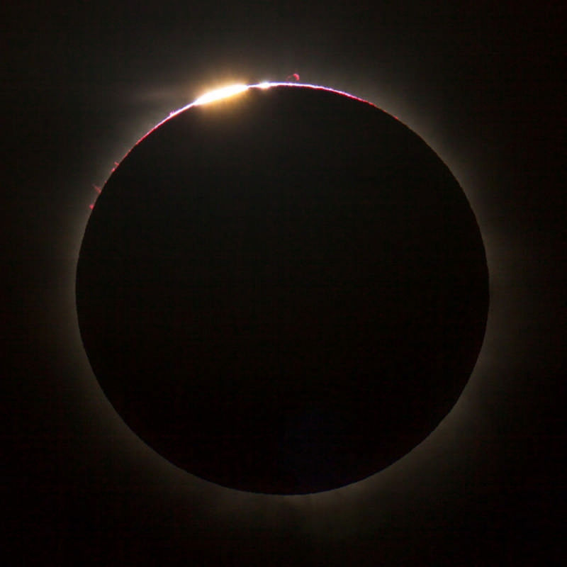 Solar Eclipse over Queensland