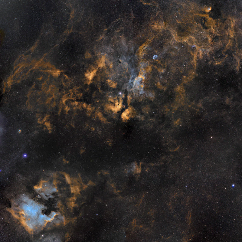 Clouds in Cygnus